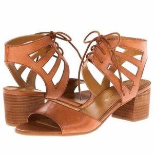 EUC Franco Sarto Flourish Block Heels (Size 8)